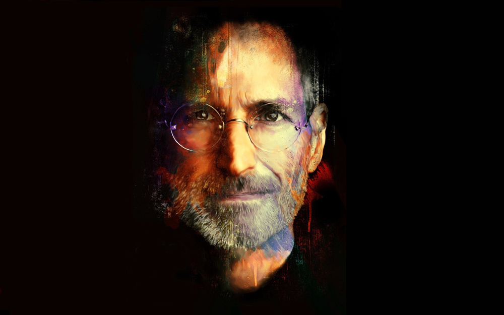 ~ An artists impression of Steve Jobs. Jobs influenced some of the biggest digital technology and subsequent cultural phenomena of the 21st century.